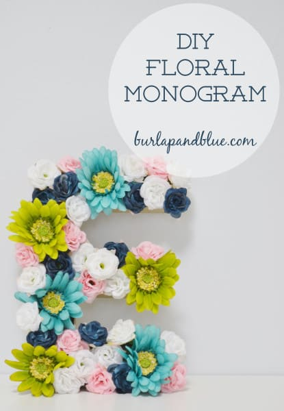 floral monogram 415x600 diy floral monogram {a tutorial}