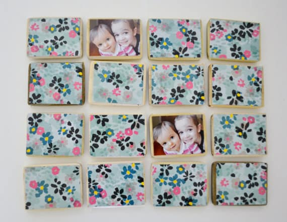 floral new matching games in shop {and a sale}