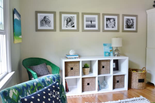 living room decor 600x399 my source for inexpensive large prints {and our photo wall}