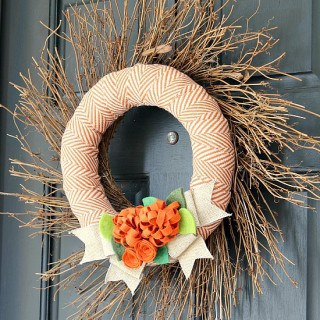 25 fall wreath tutorials