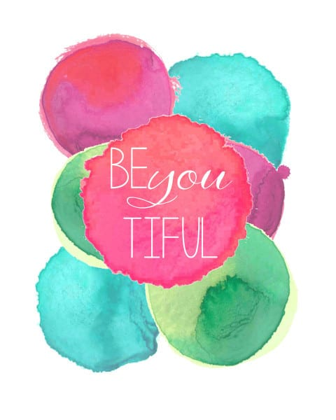 be you 480x600 free printable (be you tiful)