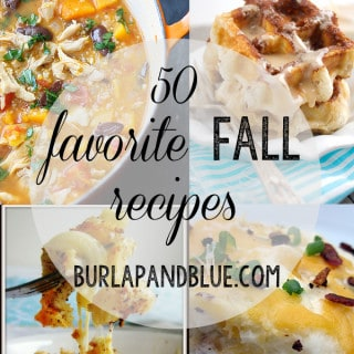 50 fall recipe favorites