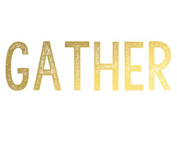 gather 600x480 gather {free printable}