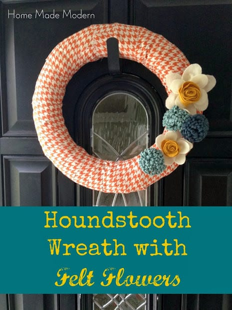 houndstooth wreath_2