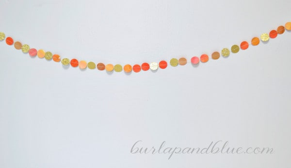 watercolor garland 600x346 watercolor garland for fall {a tutorial}