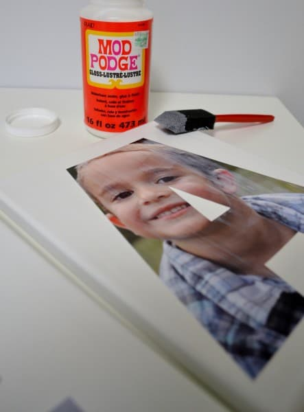 DSC 0044 2 443x600 Personalized Initial Photo Canvas {a tutorial}