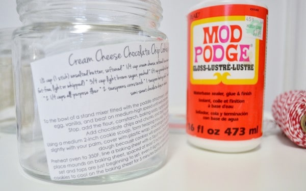 mod podged container