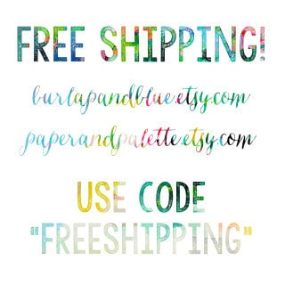 free shipping in both shops!