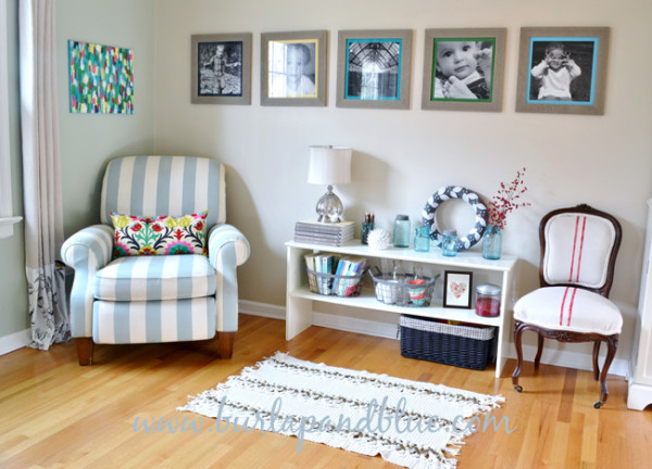living room redo burlap+blue 2 600x432 getting your home holiday ready with BLACK+DECKER