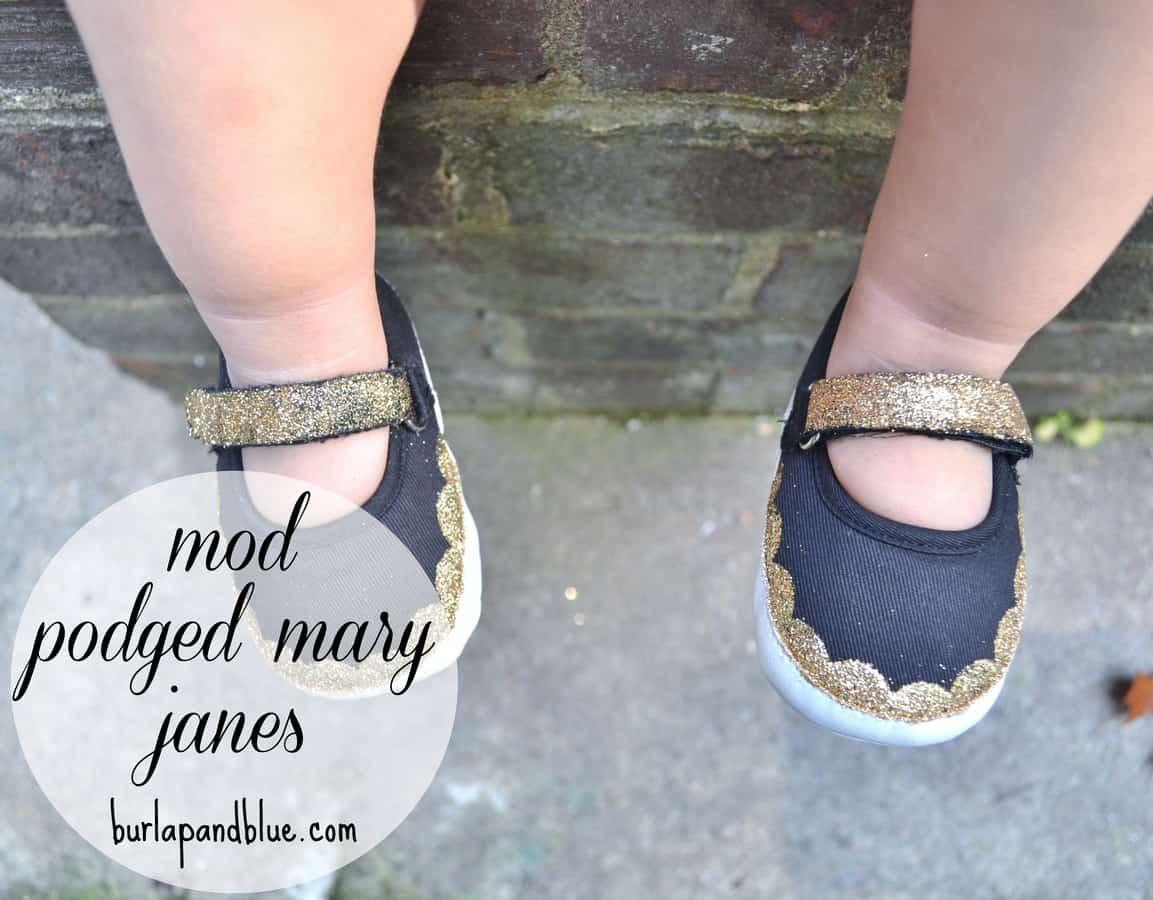 Make Diy Glitter Shoes
