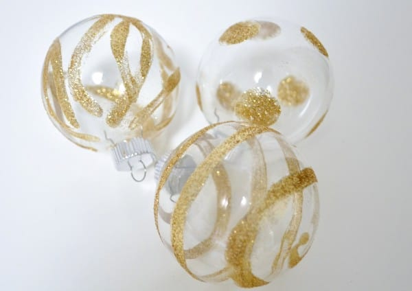 DSC 0103 600x424 how to make glitter ornaments {a tutorial}