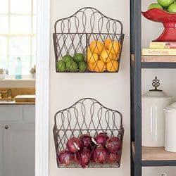wire racks kitchen