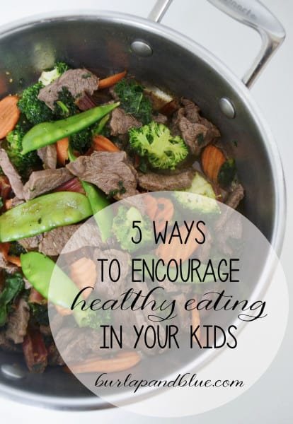 healthy eating 414x600 5 ways to encourage healthy eating in kids {and a giveaway!}