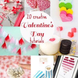 20 valentine's day crafts and tutorials