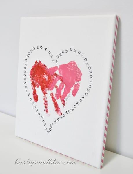 handprint valentine 459x600 handprint heart valentine
