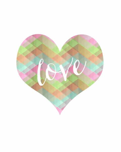 love heart 2 480x600 geometric heart {free printable}