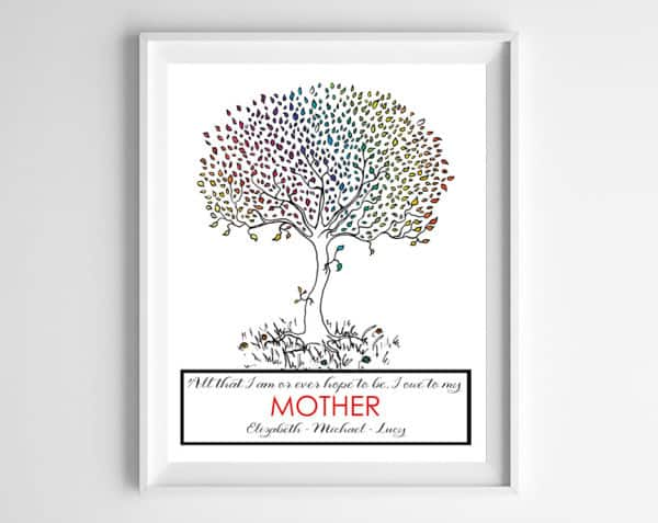 tree mother frame 600x477 new in shop!