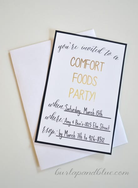 comfort foods party 15 441x600 throw a comfort foods party with marie callenders pot pies {plus free printables}
