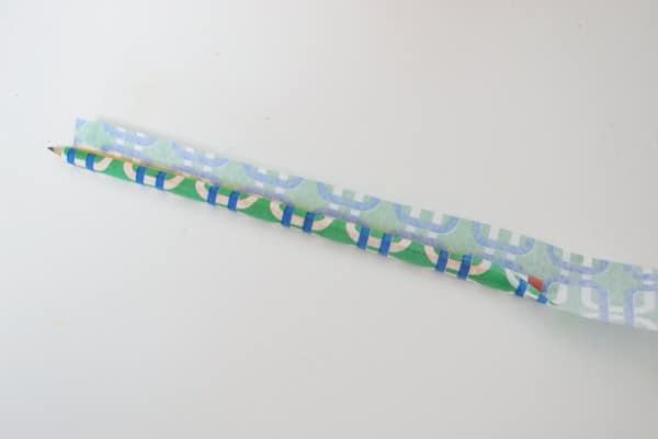 tissue paper pencil