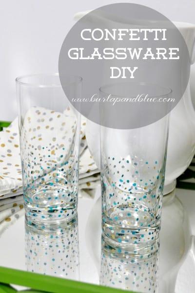 confetti glassware 1