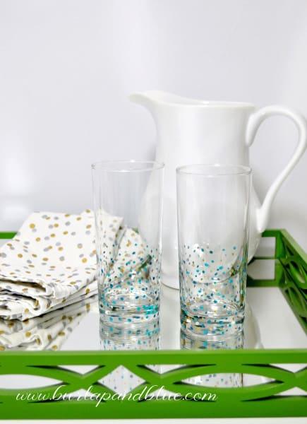 confetti glassware 6