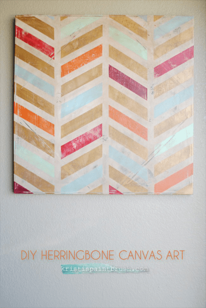 herringbone canvas