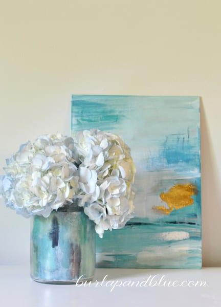 decoupage vase 2