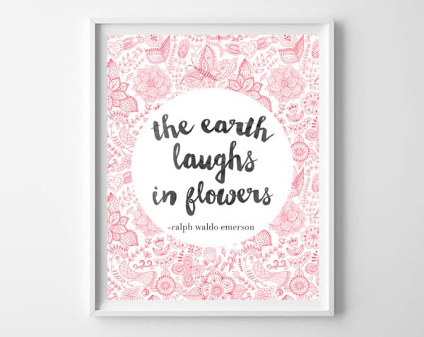 the earth laughs frame