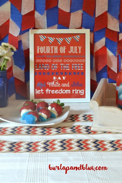 july fourth tablescape 9