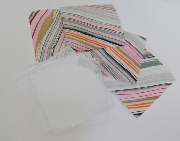 acrylic tile coasters 4