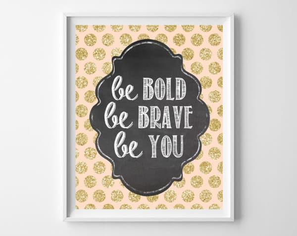 be bold frame