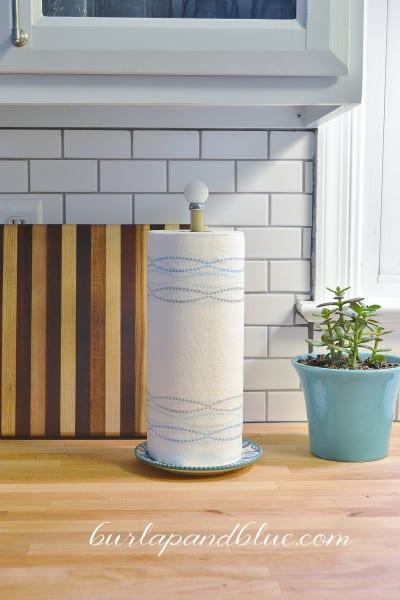 diy paper towel holder 3