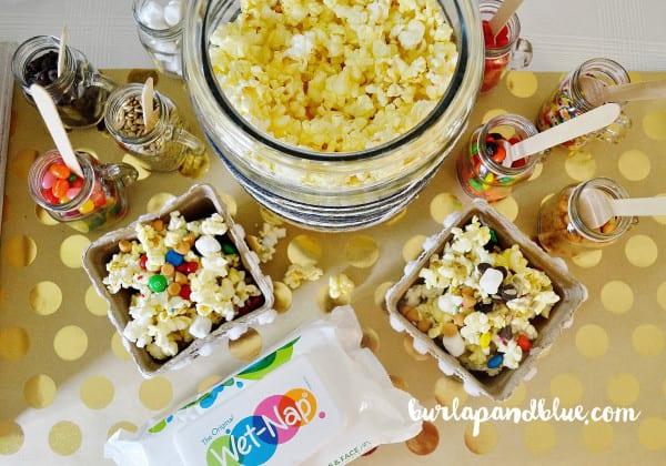 diy popcorn bar 9
