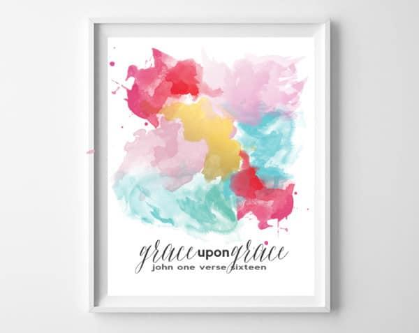 grace upon grace frame