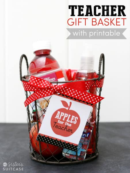 teacher-gift-basket-and-tag