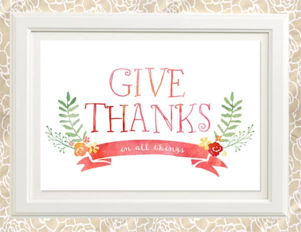 thanks-print-frame