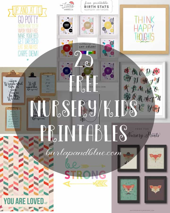 17 Best Images About Kids Bedrooms On Pinterest: Nursery And Kids Printables