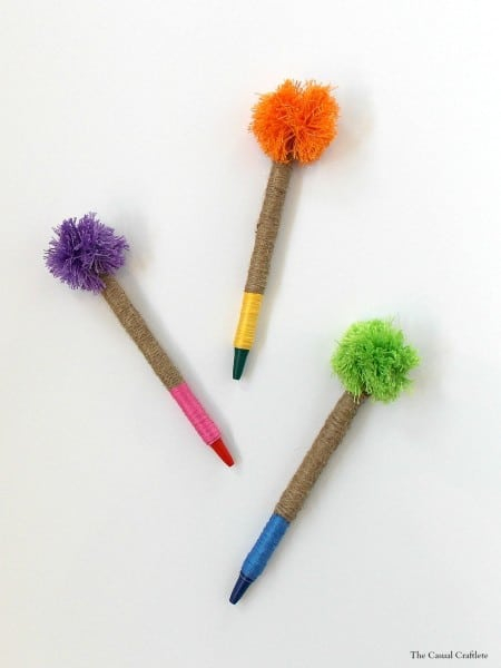 Antrhopologie-Knockoff-Pom-Pom-Pencils