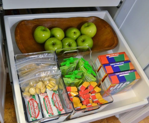 independent snack drawer