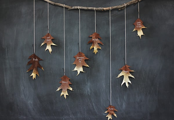 diy-gold-leaf-garland