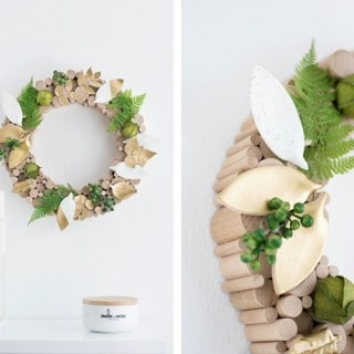 25 gorgeous & modern crafts with leaves