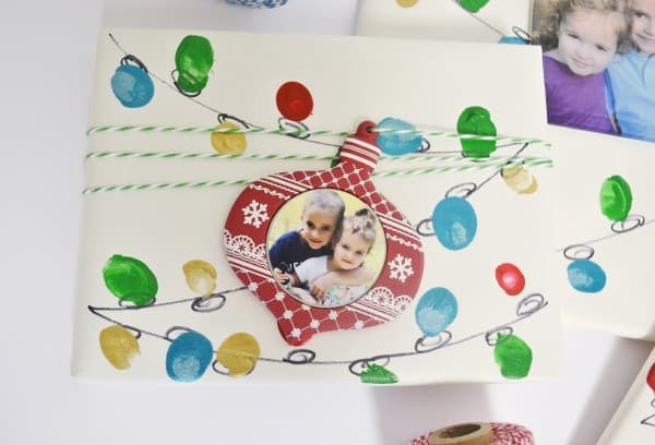 holiday lights gift wrap 2