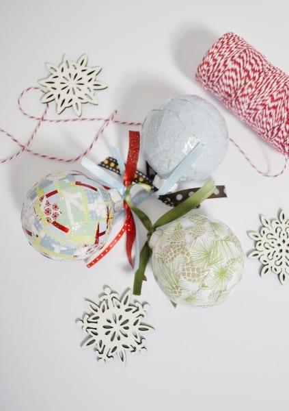 mod podged ornaments 1
