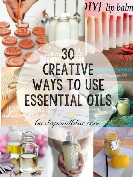 essential oil crafts