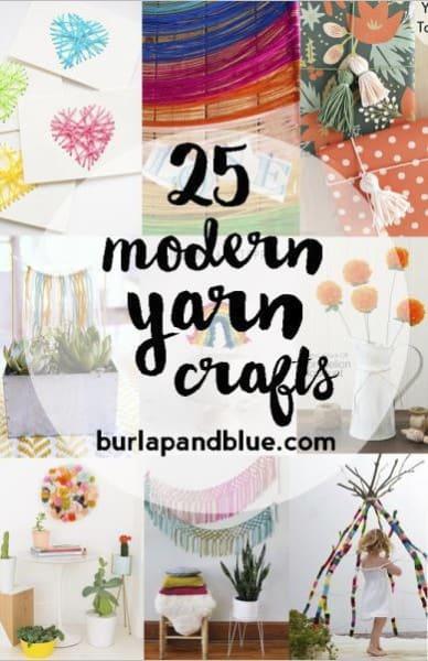 yarn crafts diy