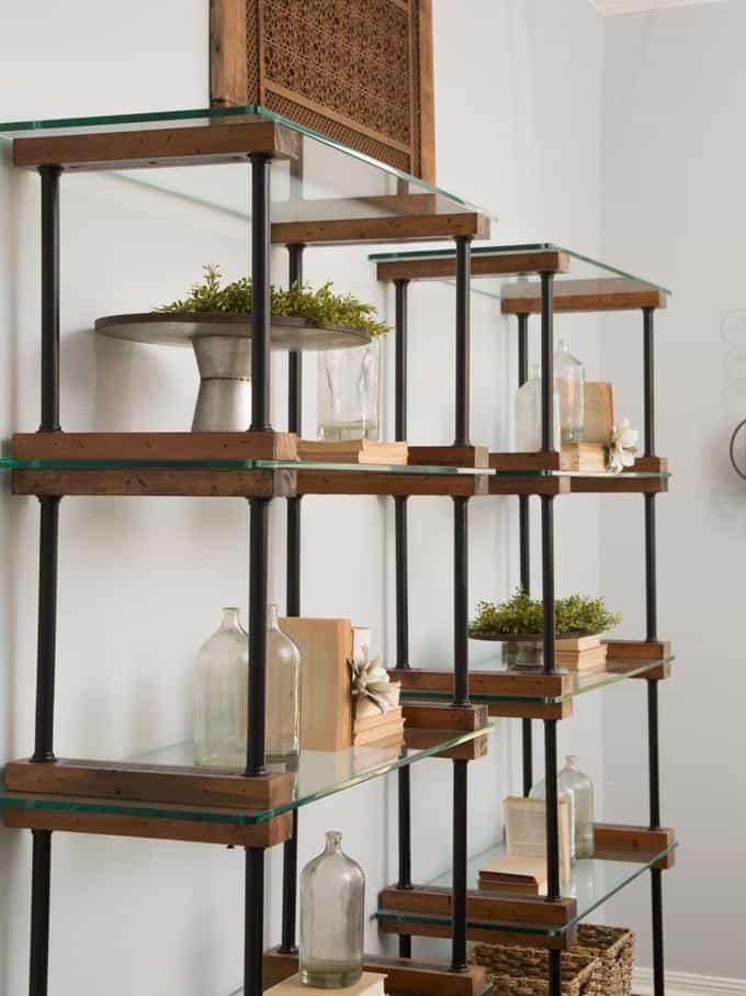 26 favorite fixer upper vignettes tablescapes burlap and blue bloglovin - Modular dining room ...