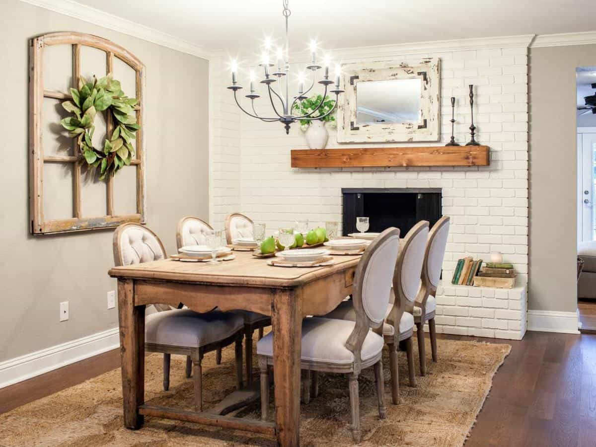 Fixer Upper Kitchens Living And Dining Rooms