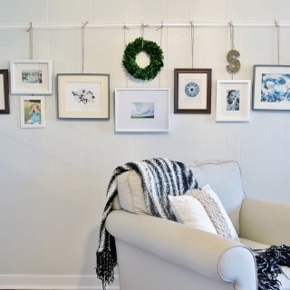 picture rail molding {ideas and inspiration}