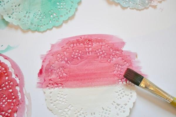 watercolor garland
