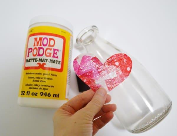 tissue paper heart 7